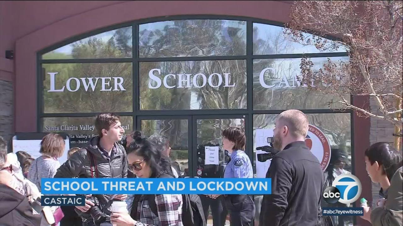 According to sheriffs officials, a 15-year-old student was detained on charges of making criminal threats, after he was overheard by classmates saying he was going to shoot up the school and students.