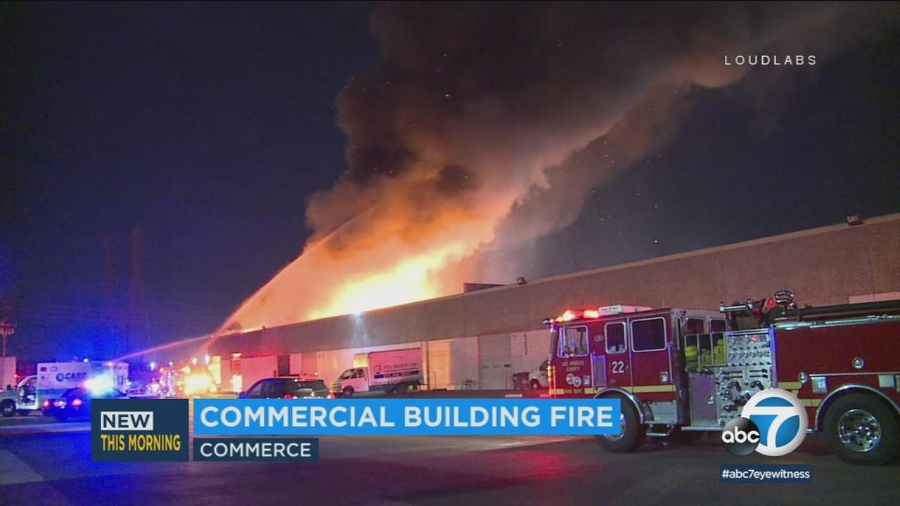 022418-kabc-8am-commerce-fire-vid