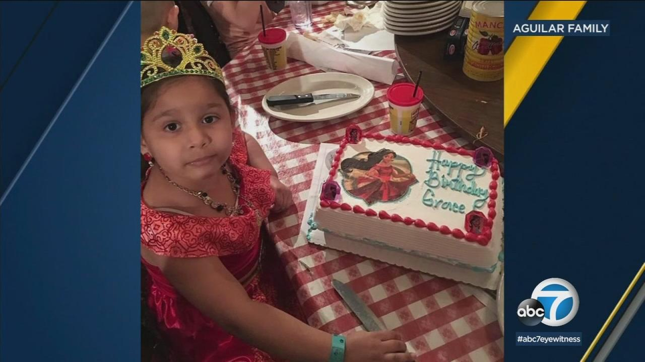 The parents of the 6-year-old girl killed by a suspected drunk driver in Fullerton a week and a half ago say their angel was taken from them.