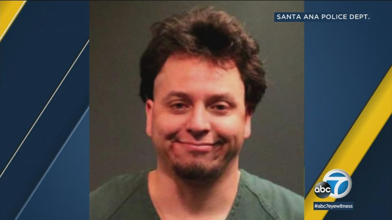 Giovanne Santos Ojeda, 31, was arrested earlier in the week by Santa Ana police after his parents accused him of long-term abuse.