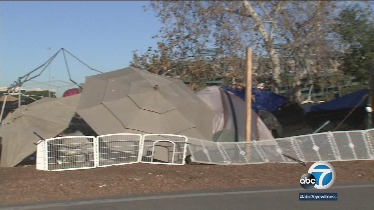 With homeless camps being cleared from the Santa Ana River, Orange County is now looking at the next step in getting those out in the cold inside.