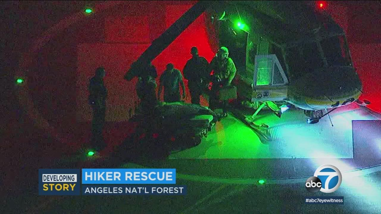 A missing hiker, who was stranded for at least one night, is now recovering after he went missing in the Angeles National Forest.
