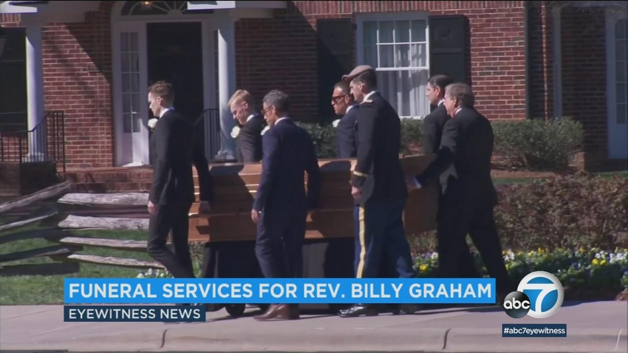 The Rev. Billy Grahams funeral featured music and heartfelt words from his adult children in the culmination of more than a week of tributes to Americas Pastor.