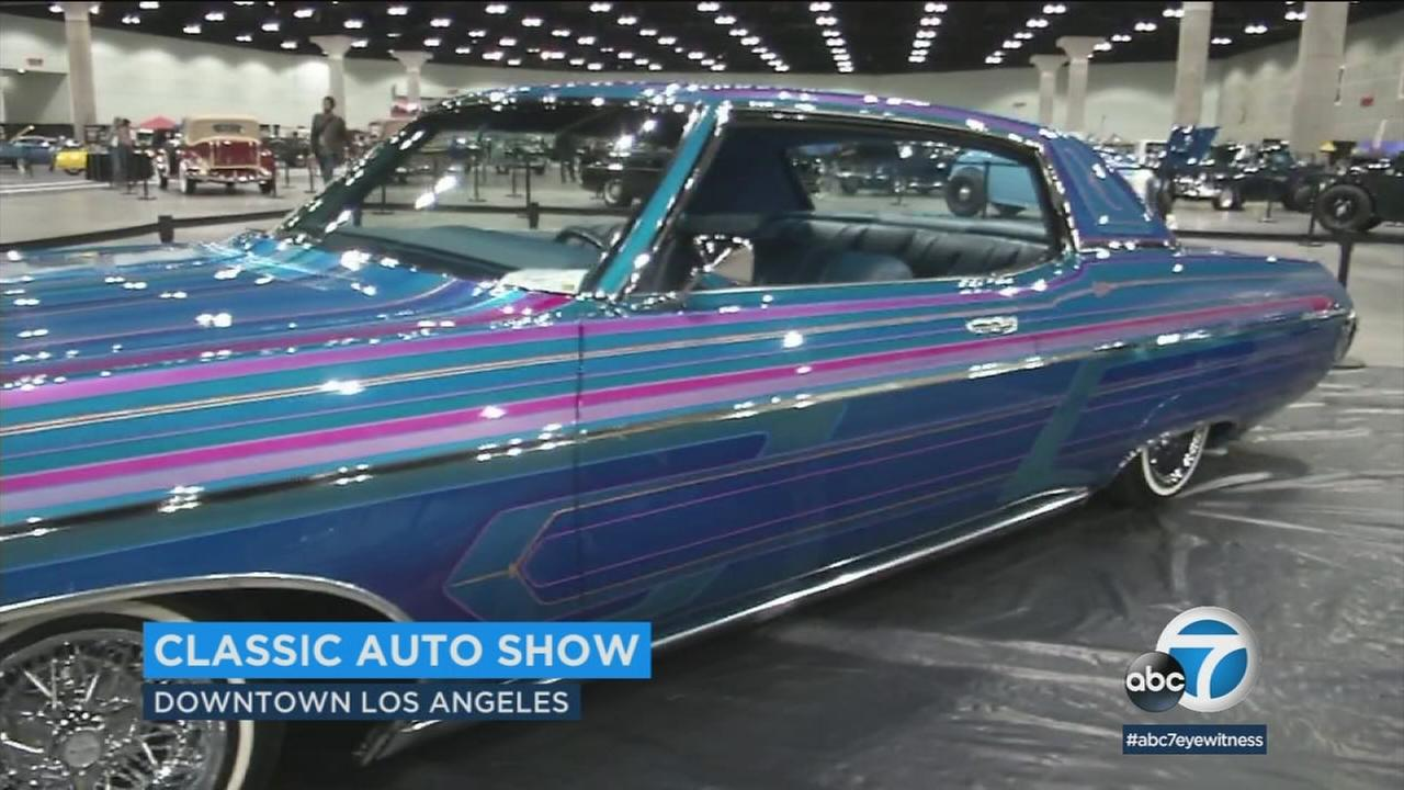 Classic Car Show In Downtown LA Offers Something For Any Car - Classic show cars