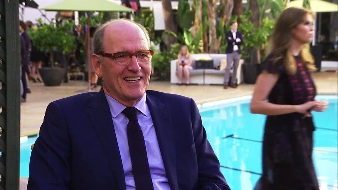 Oscar nominee Richard Jenkins says hes grateful to be considered for a statuette for his role in The Shape of Water.