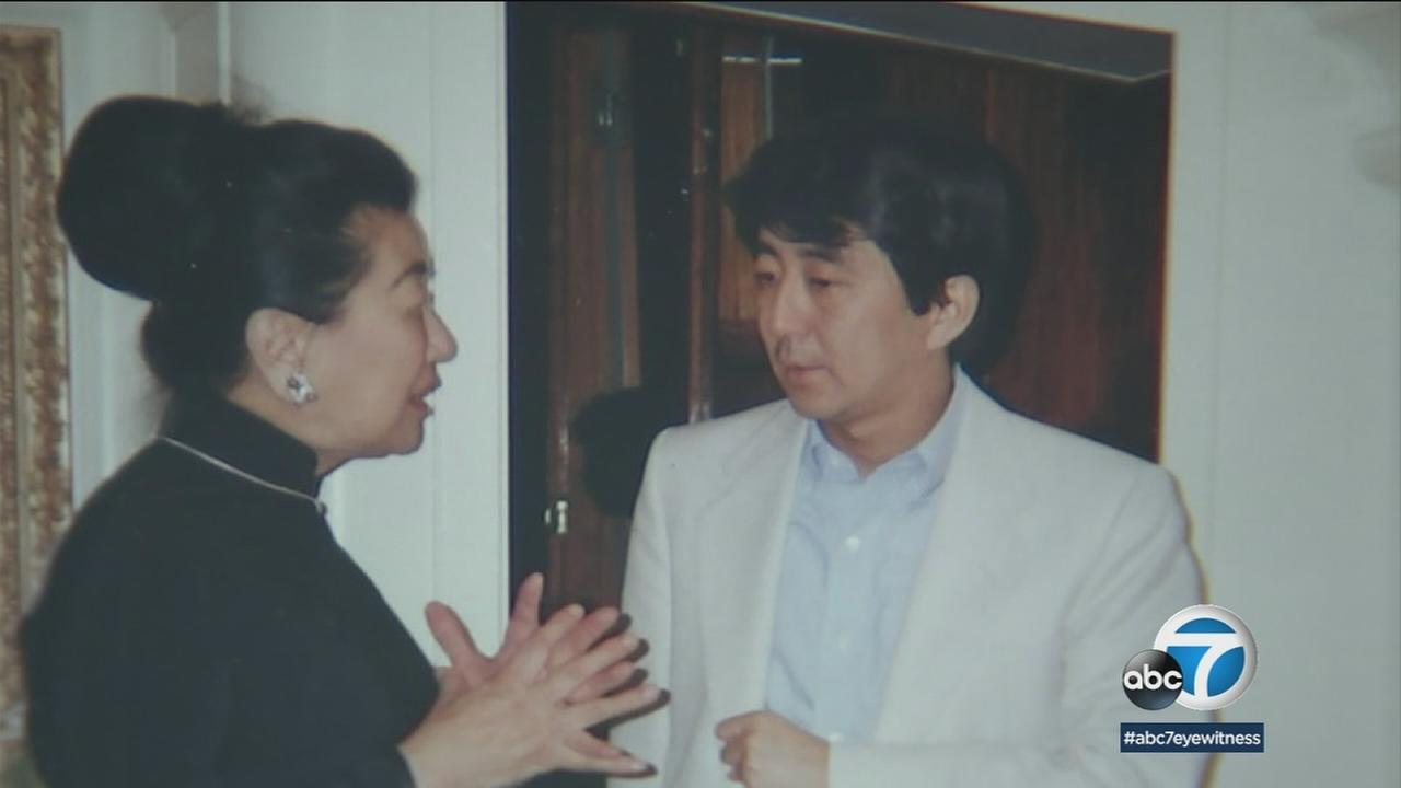Japanese Prime Minister Shinzo Abe has connections to Southern California that include time spent at USC in the 1970s and long-time friendship with a family here.