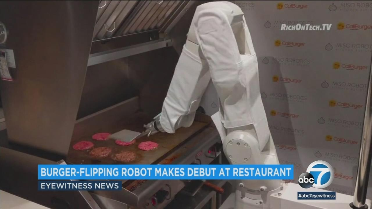 Next time you visit the CaliBurger in Pasadena, your order might be prepared by a robot named Flippy.