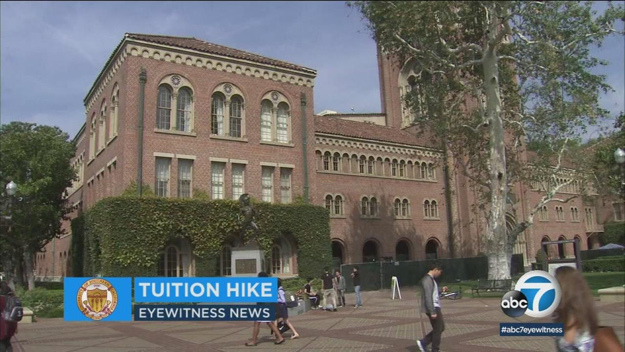 Another year, another tuition hike at USC.