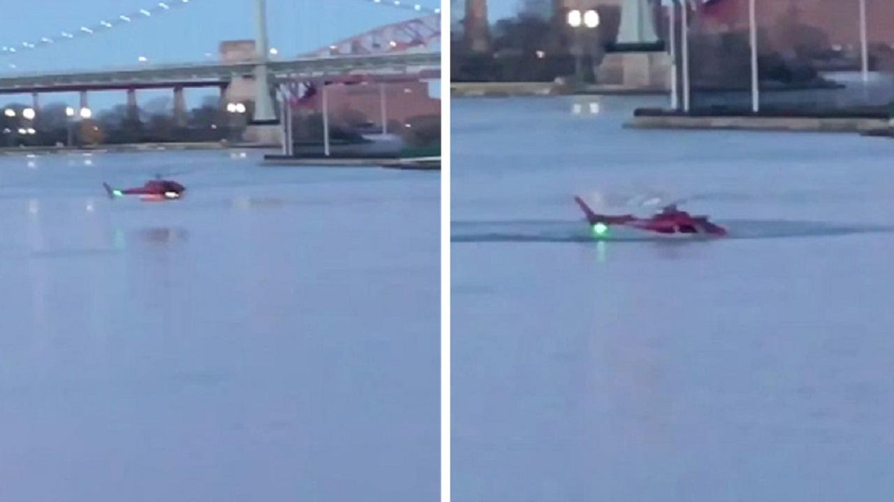 Officials say five people are dead after a helicopter crashed into the East River on Sunday night.