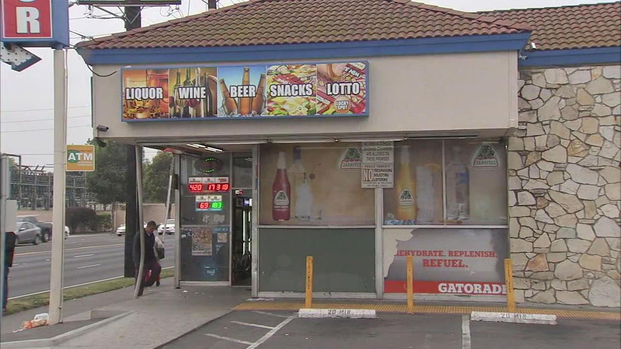 A liquor store where a police struggle with a possible burglary suspect led to his death on Sunday, March 11, 2018.