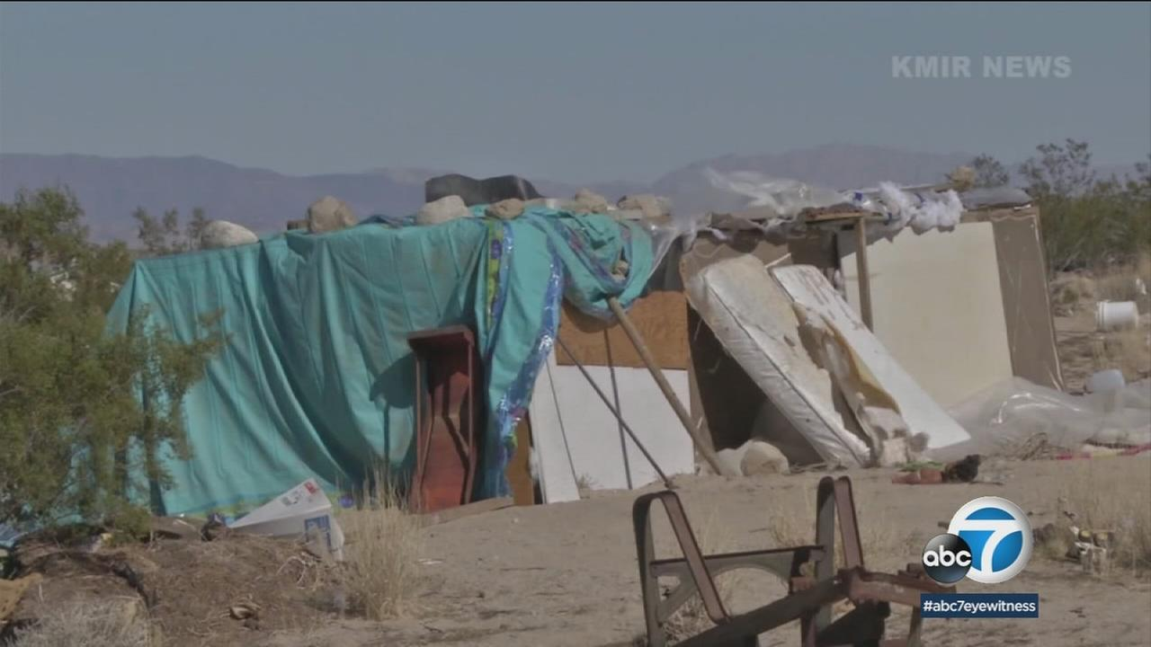 Daniel Panico and Mona Kirk say they have been living a nightmare since being arrested for living on their Joshua Tree property with their three young children in conditions considered unfit.