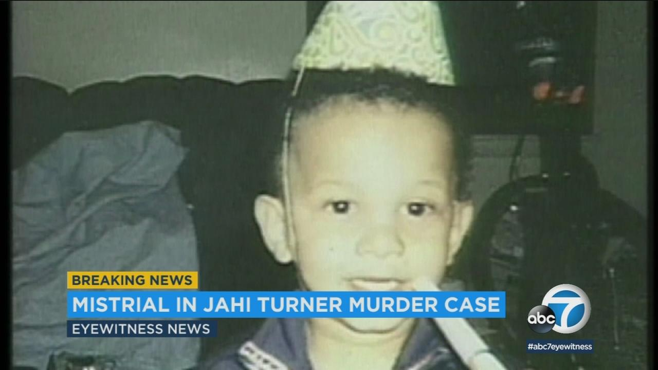 A mistrial has been declared in the case against Tieray Jones, accused of killing 2-year-old Jahi Turner.