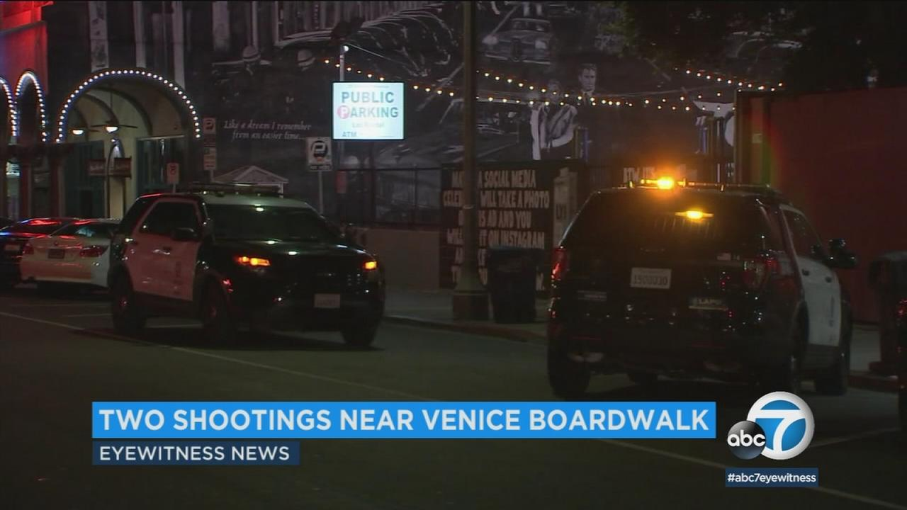 Police say two shootings in the area are not related, but they say the recent violence in Venice is concerning.