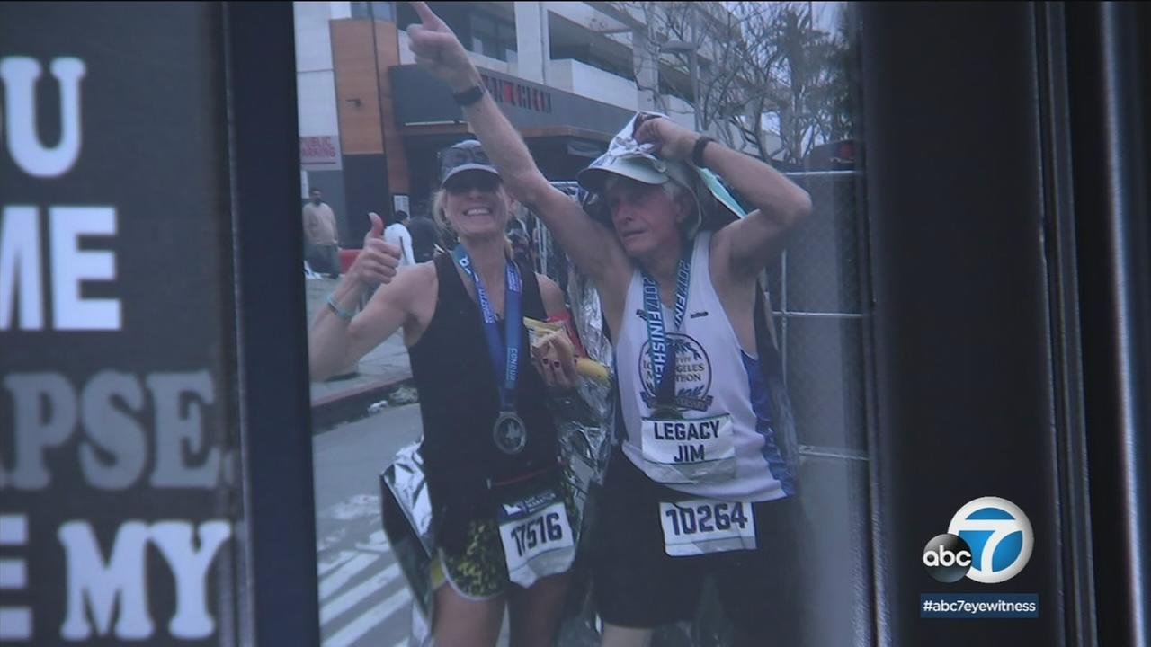 Orange County resident James Smith, 81, shown in this undated photo, has run in every LA Marathon.