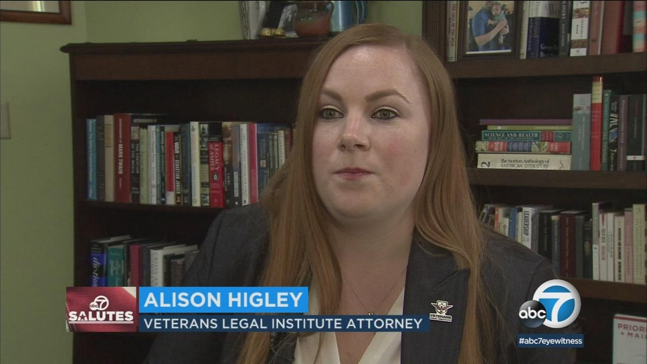 The staff at Veterans Legal Institute represent veterans in a variety of cases, Friday March 16, 2018.