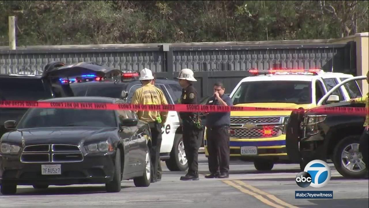 A woman is dead and and a man was taken to a hospital after a shooting at The Oaks Mall in Thousand Oaks Saturday, March 17, 2018.