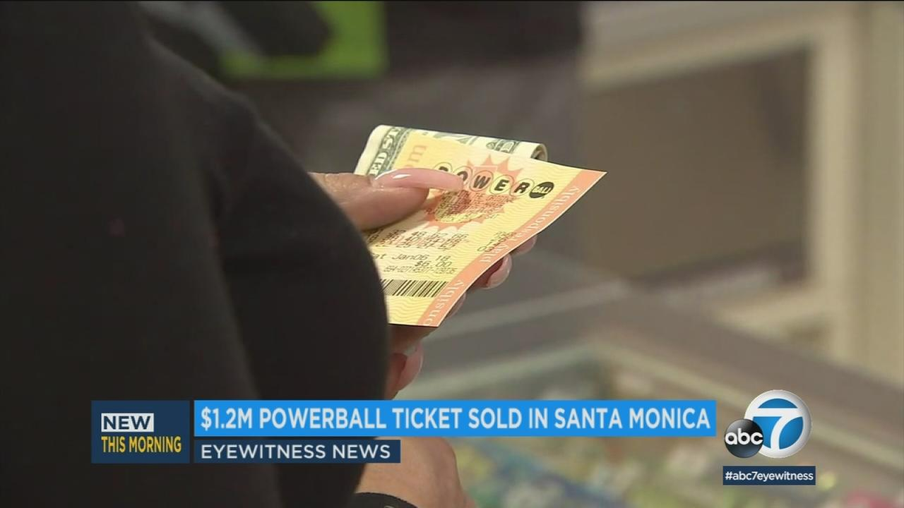 Someone in Santa Monica is waking up a millionaire after Saturday nights Powerball drawing.