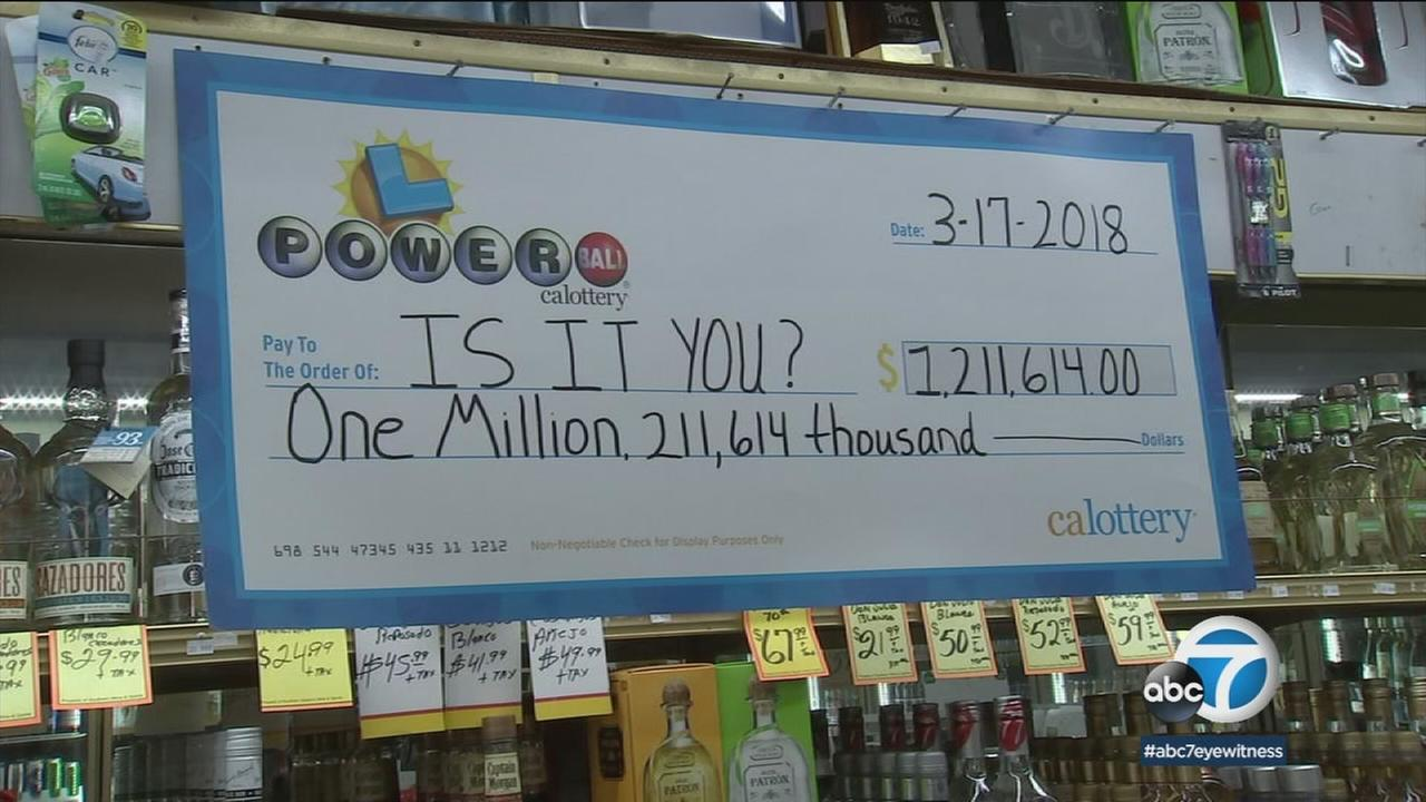 Someone who bought a Powerball ticket in Santa Monica is now $1.2 million richer.