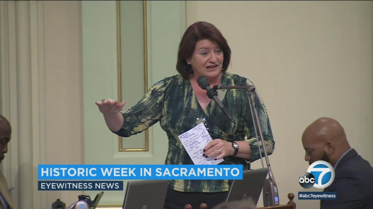 History will be made in Sacramento this week. Toni Atkins will become the first woman and first lesbian to hold the top job in the California state Senate.