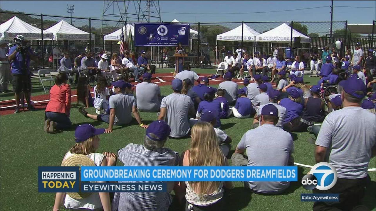 The Los Angeles Dodgers Foundation is bringing two baseball fields to La Puente as part of its program that builds and refurbishes facilities in underserved communities.