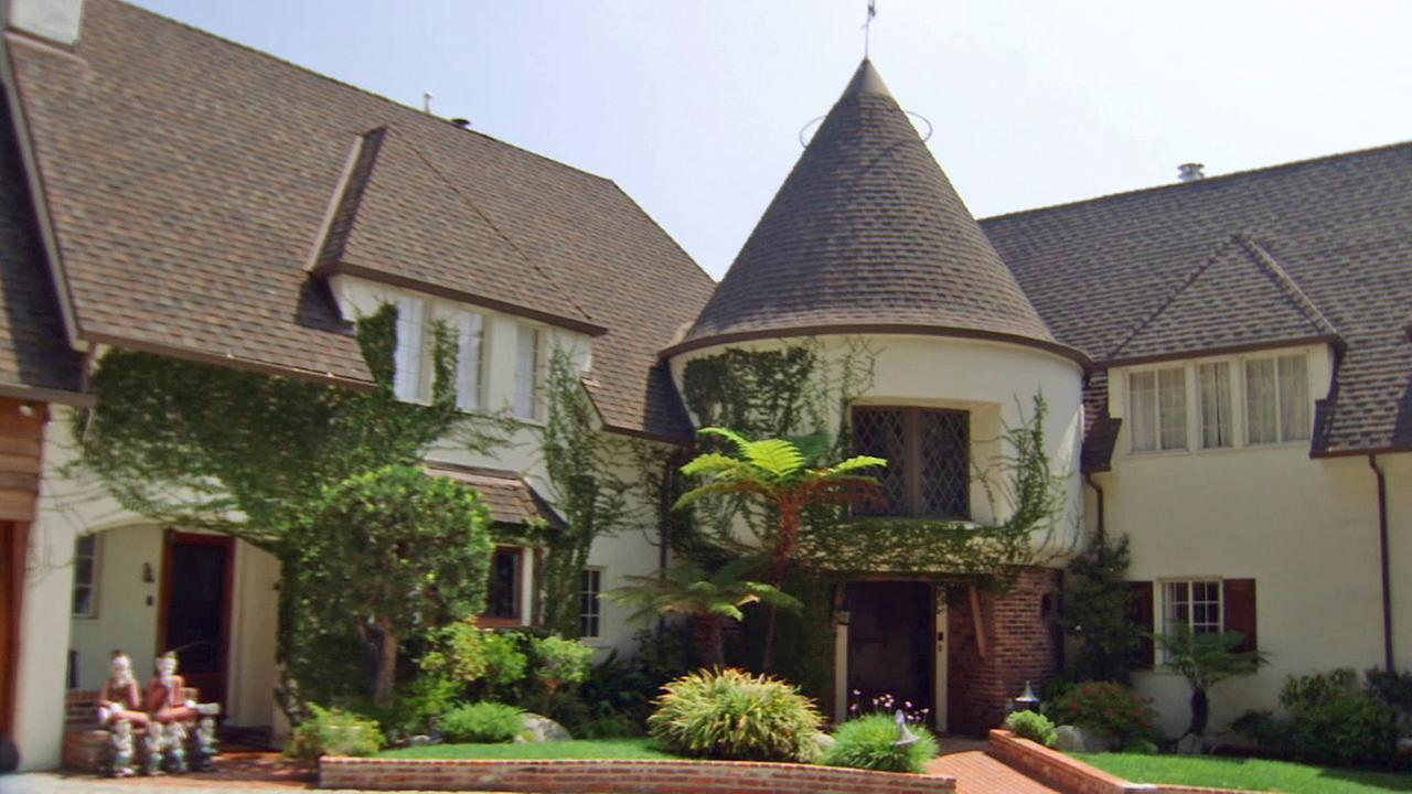 Walt Disneys former home in Los Feliz is seen in this September 2014 photo.