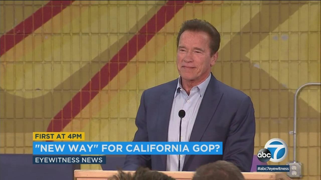 Arnold Schwarzenegger wants to help save the California GOP.