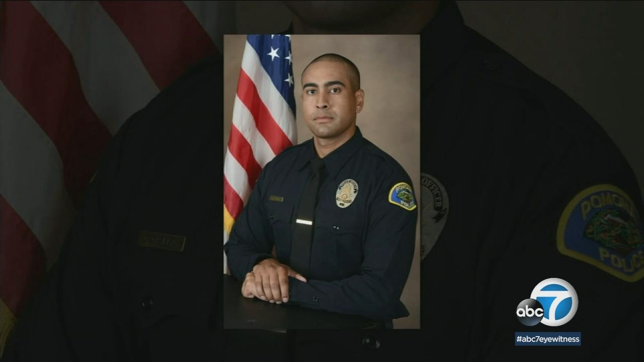 Pomona officer killed