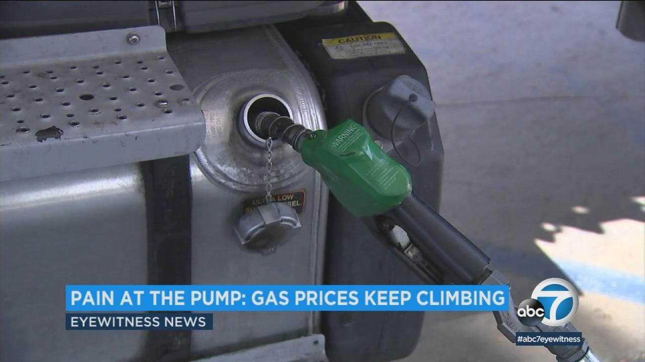 A gas pump is seen in this undated file photo.