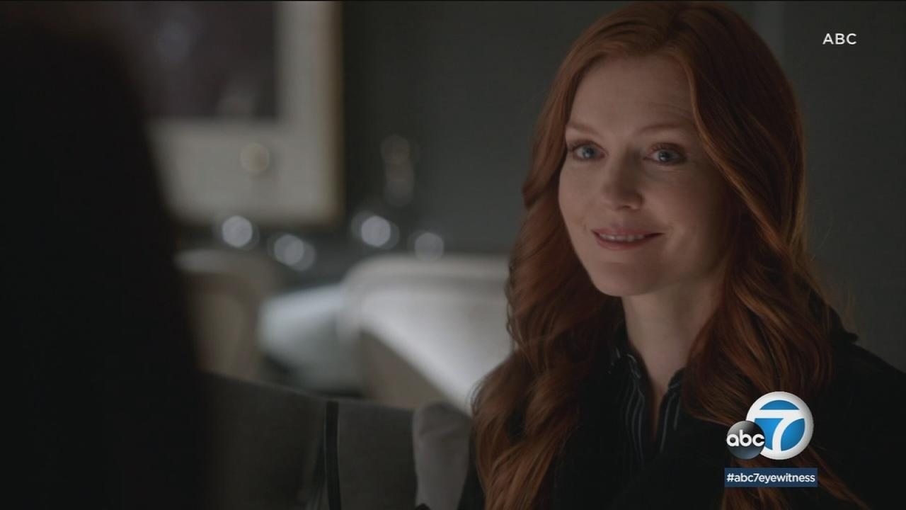 Actress Darby Stanchfield is stepping behind the camera to direct an episode of Scandal.