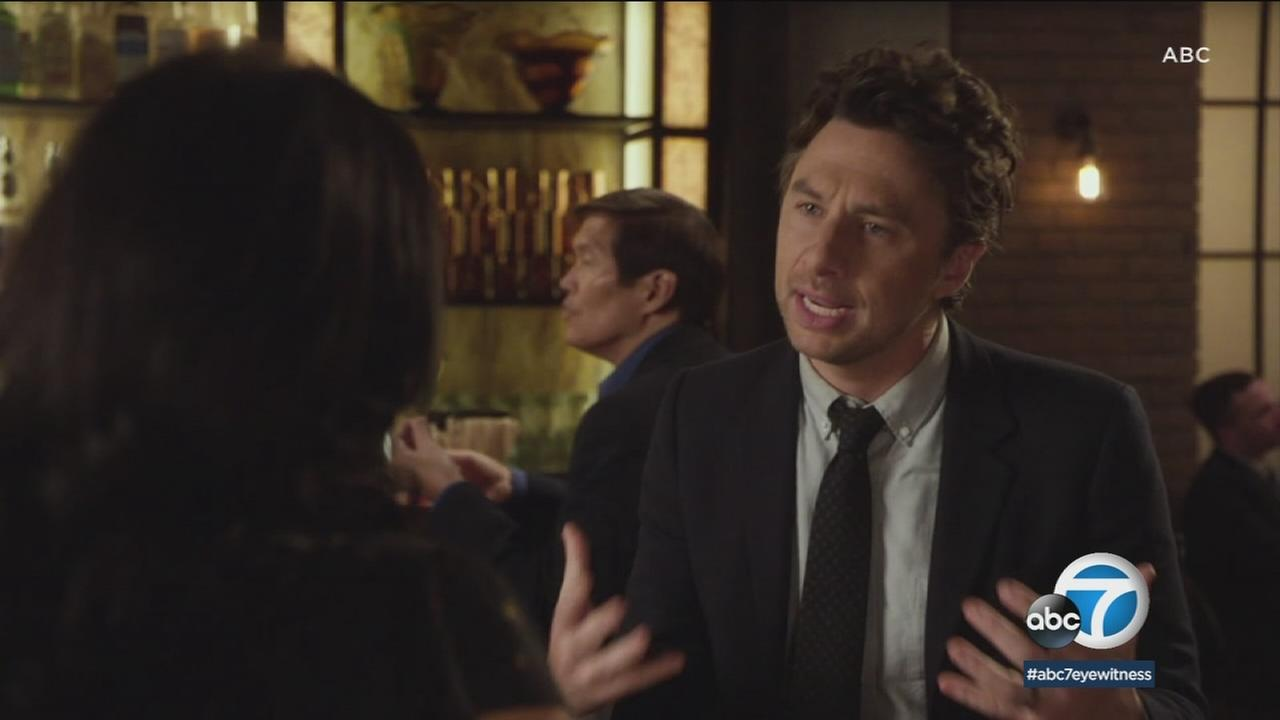 Actor Zach Braff plays a man who scrubs his old career to start a venture in the world of podcasting in the new ABC sitcom Alex, Inc.