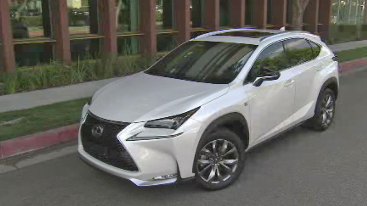 2014 the Lexus NX SUV is seen.