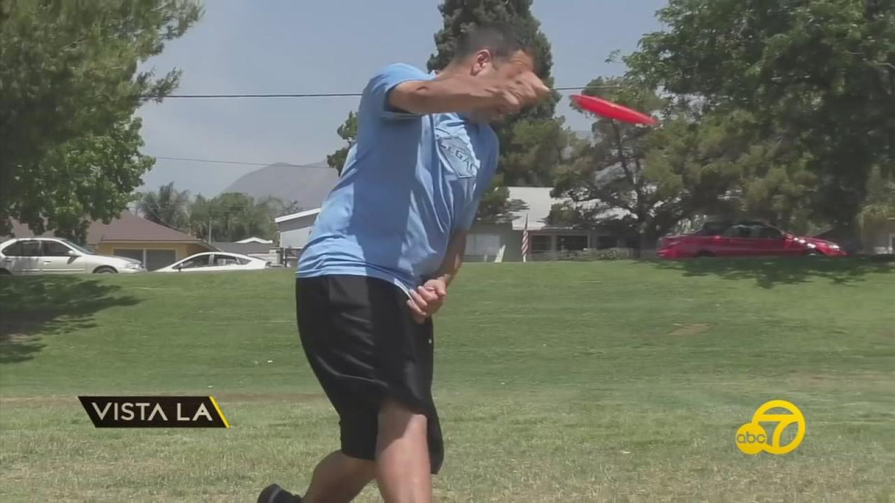 After year as competitors in the sport of disc golf, two brothers launched a disc golf manufacturing company in San Fernando.