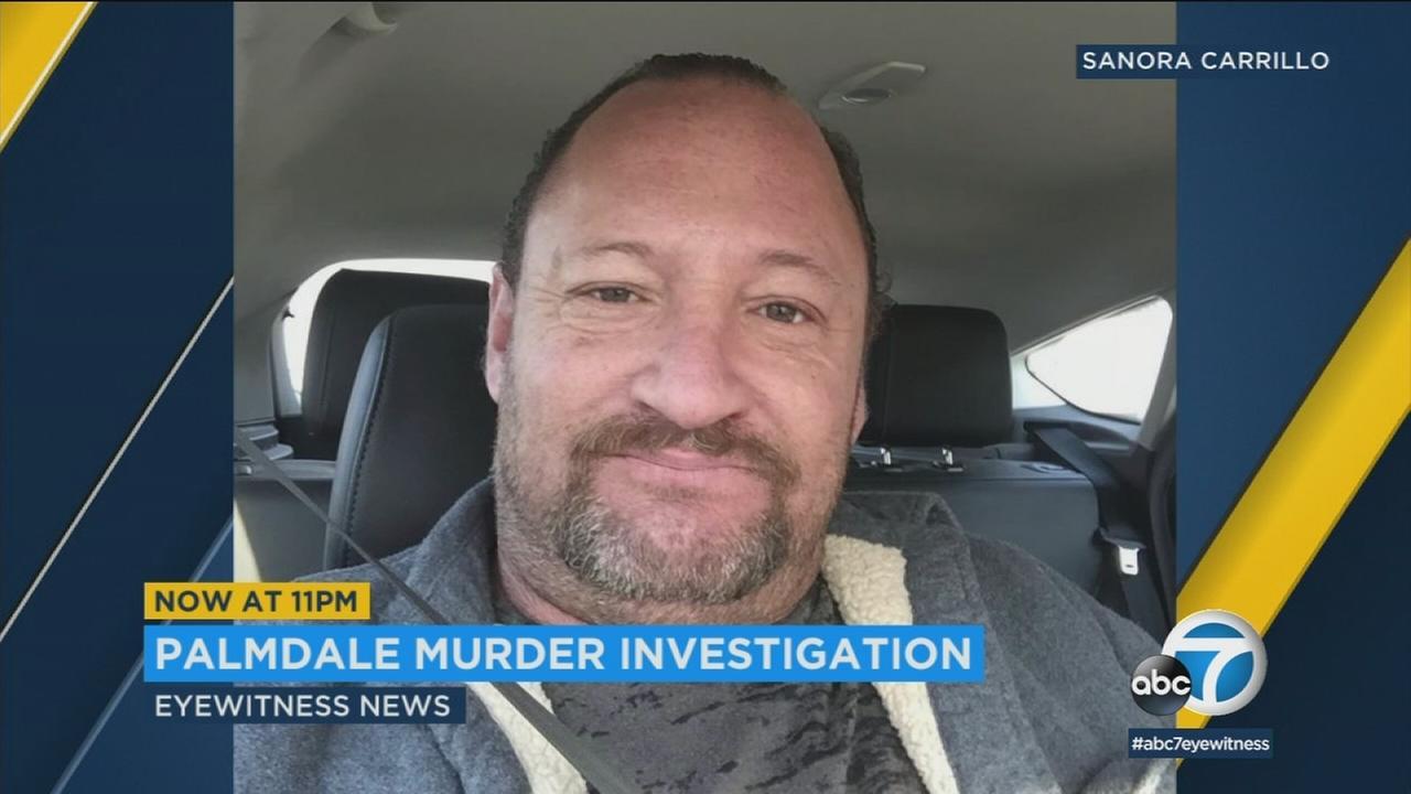 An investigation was underway after a man was found shot to death in Palmdale Saturday night.