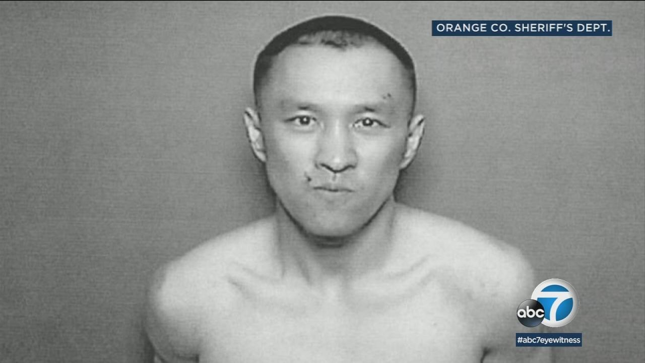 Yihong Peng, 30, is shown in a photo. He was arrested on suspicion of fatally stabbing his mother and critically wounding his father in San Juan Capistrano.