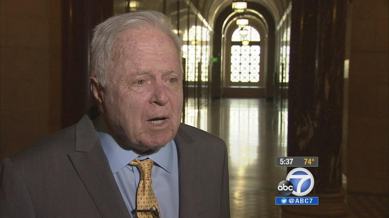 Former Los Angeles City Mayor Richard Riordan releases a new book focusing on his eight years spent leading the city.