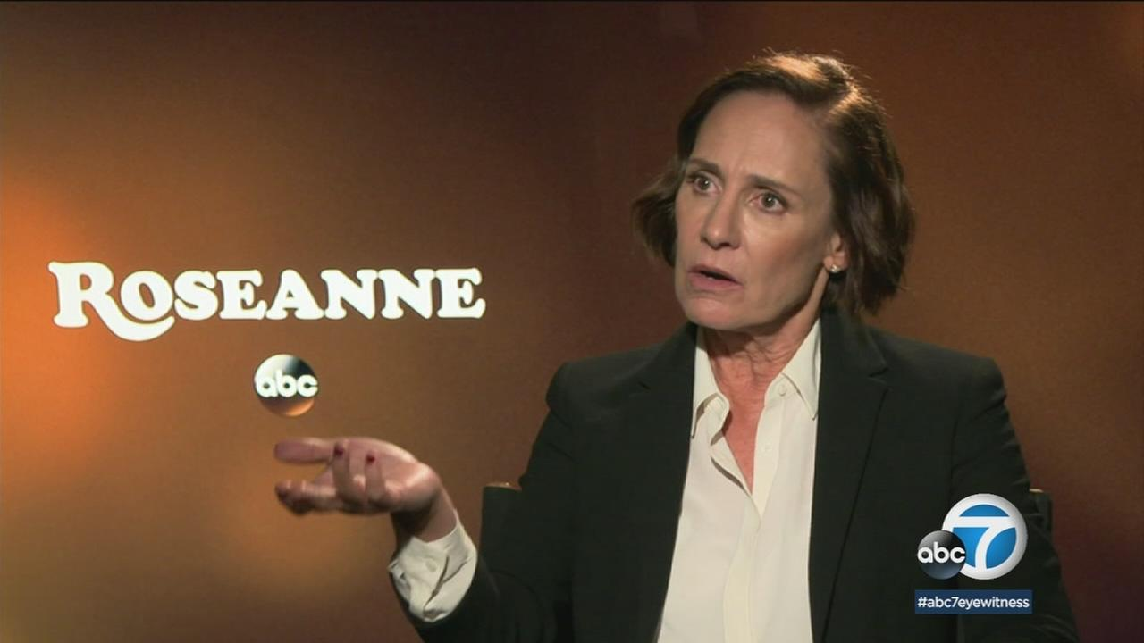 Metcalf says she likes that Roseanne remains a show thats unafraid to talk about whats going on in our world.