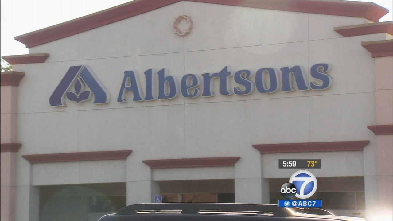 An Albertsons store is shown in this undated file photo.
