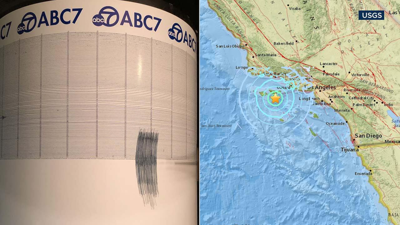 A 5.3-magnitude earthquake struck near Channel Islands off the Southern California coast on Thursday, shaking large swaths of SoCal.