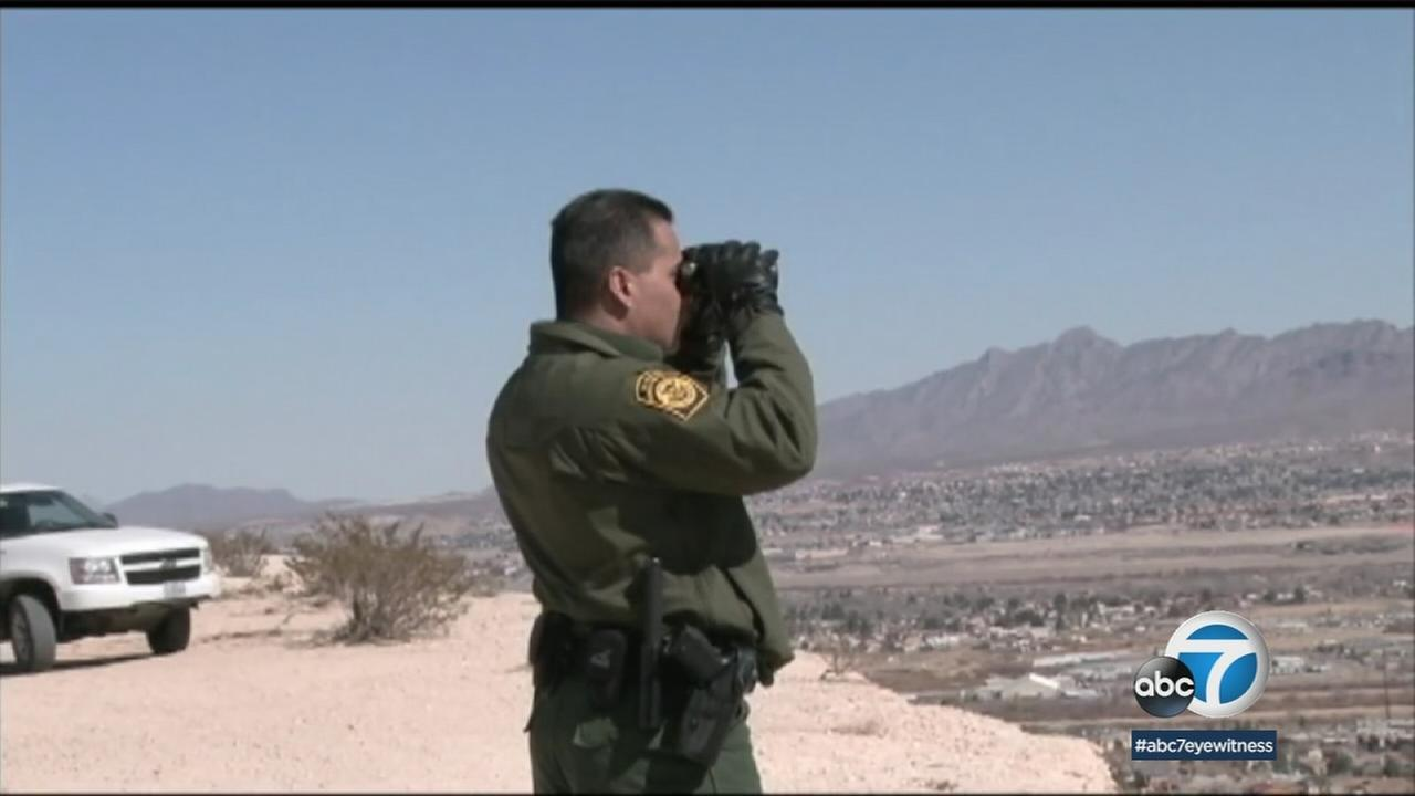 President Donald Trump says he wants to send between 2,000 and 4,000 National Guard members to the U.S.-Mexico border.