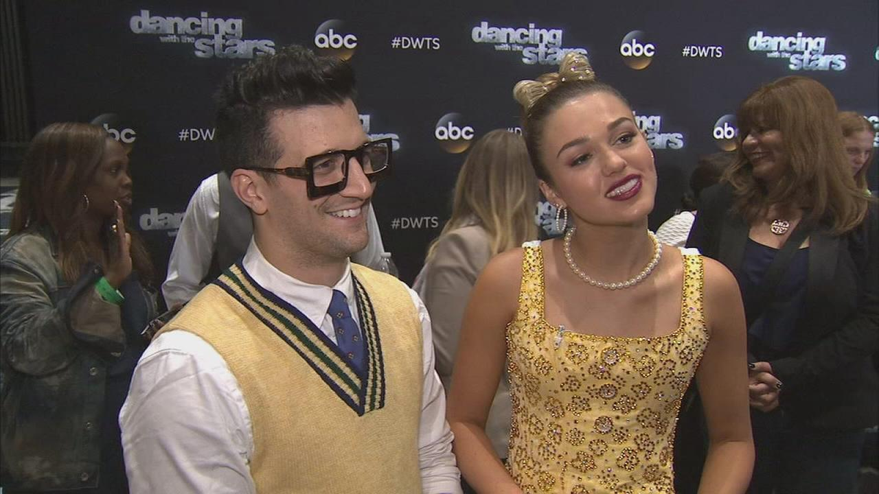 Sadie Robertson and Mark Ballas on Dancing With The Stars week 3 on Monday, Sept. 29, 2014.