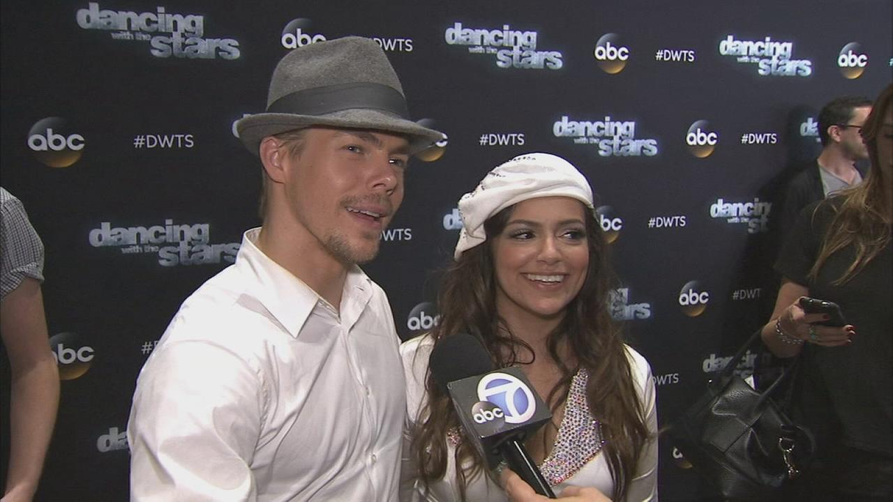 Bethany Mota and Derek Hough on Dancing With The Stars week 3 on Monday, Sept. 29, 2014.