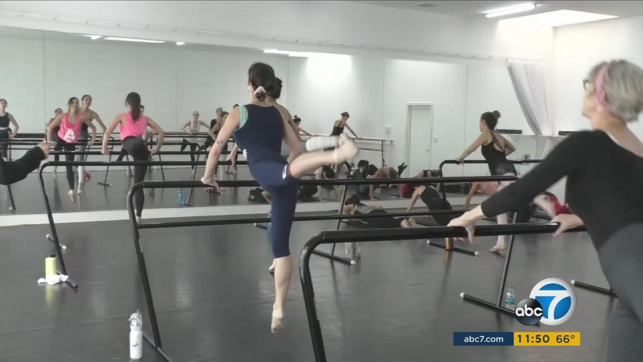 A typical ballet class gets ramped up with techniques that allow students to jump, leap and nearly fly like a bird.