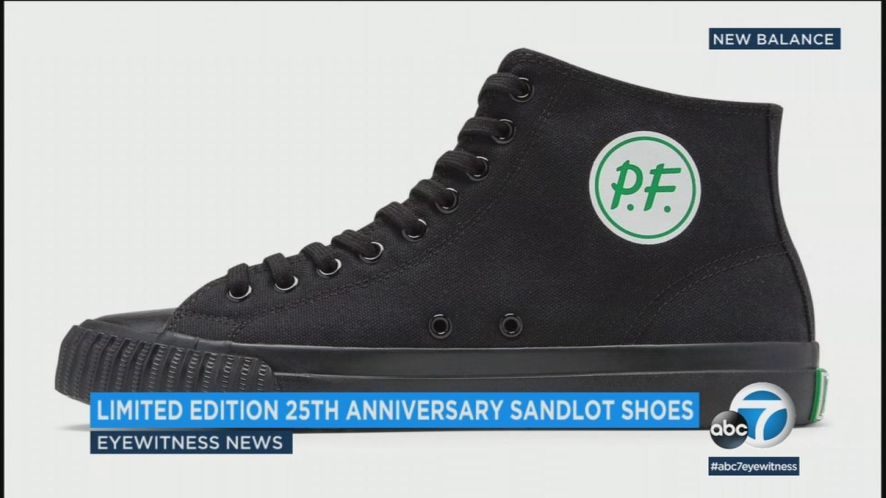 PF Flyers is celebrating the 25th anniversary of the iconic 1993 baseball film by introducing the Sandlot Center Hi.