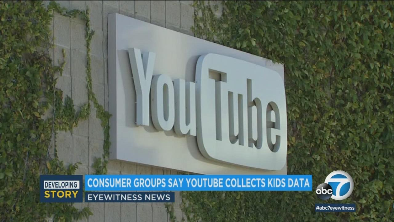 Advocacy groups filed a complaint against YouTube, claiming that the Google subsidiary illegally collected data from children who watch cartoons and other videos on the platform.
