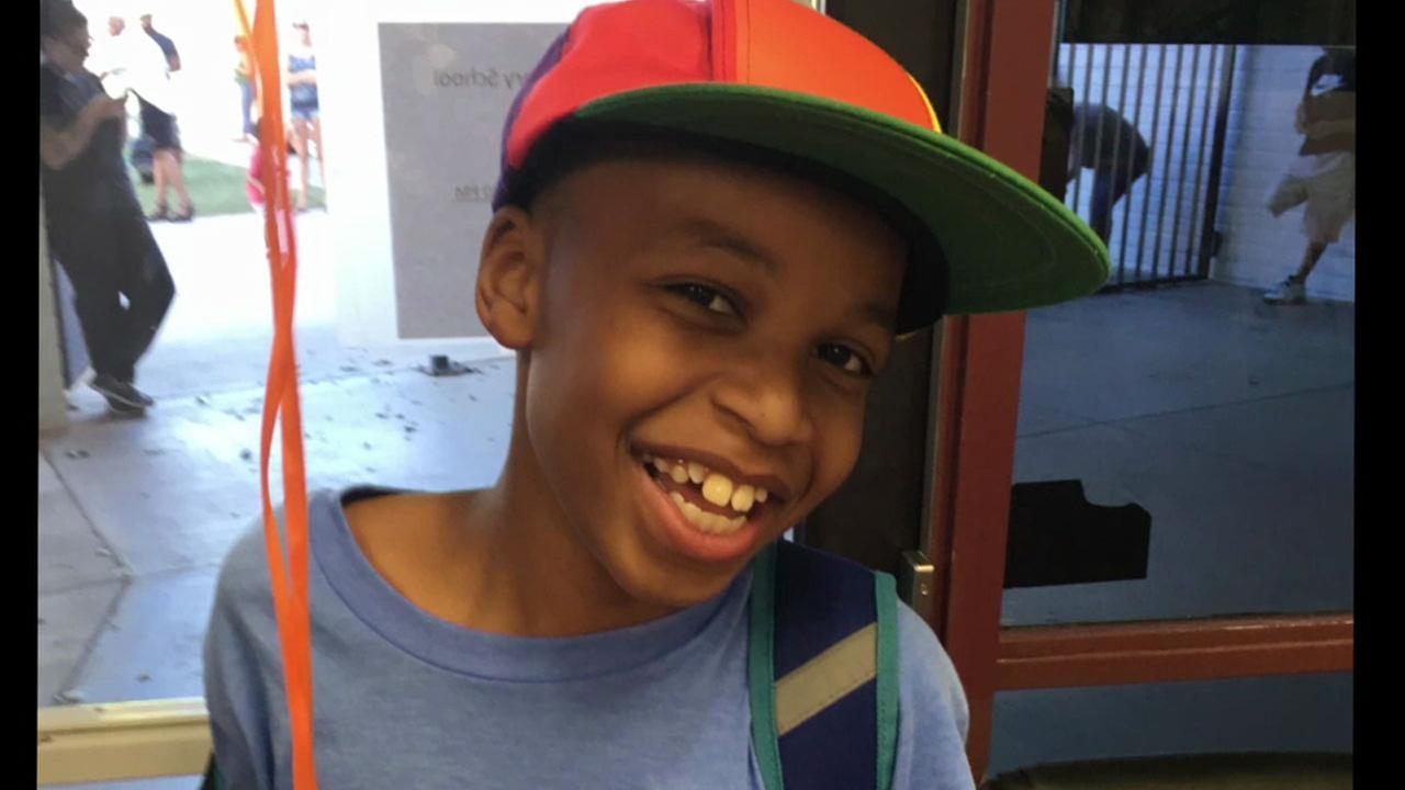 Nolan Brandy, 10, is shown in an undated photo.