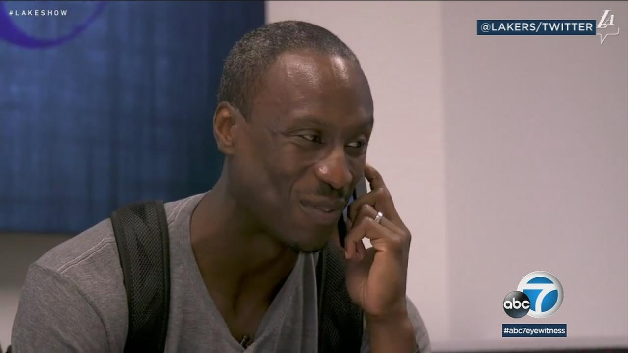 After 10 years in the developmental league Andre Ingram is getting called up to the Lakers.
