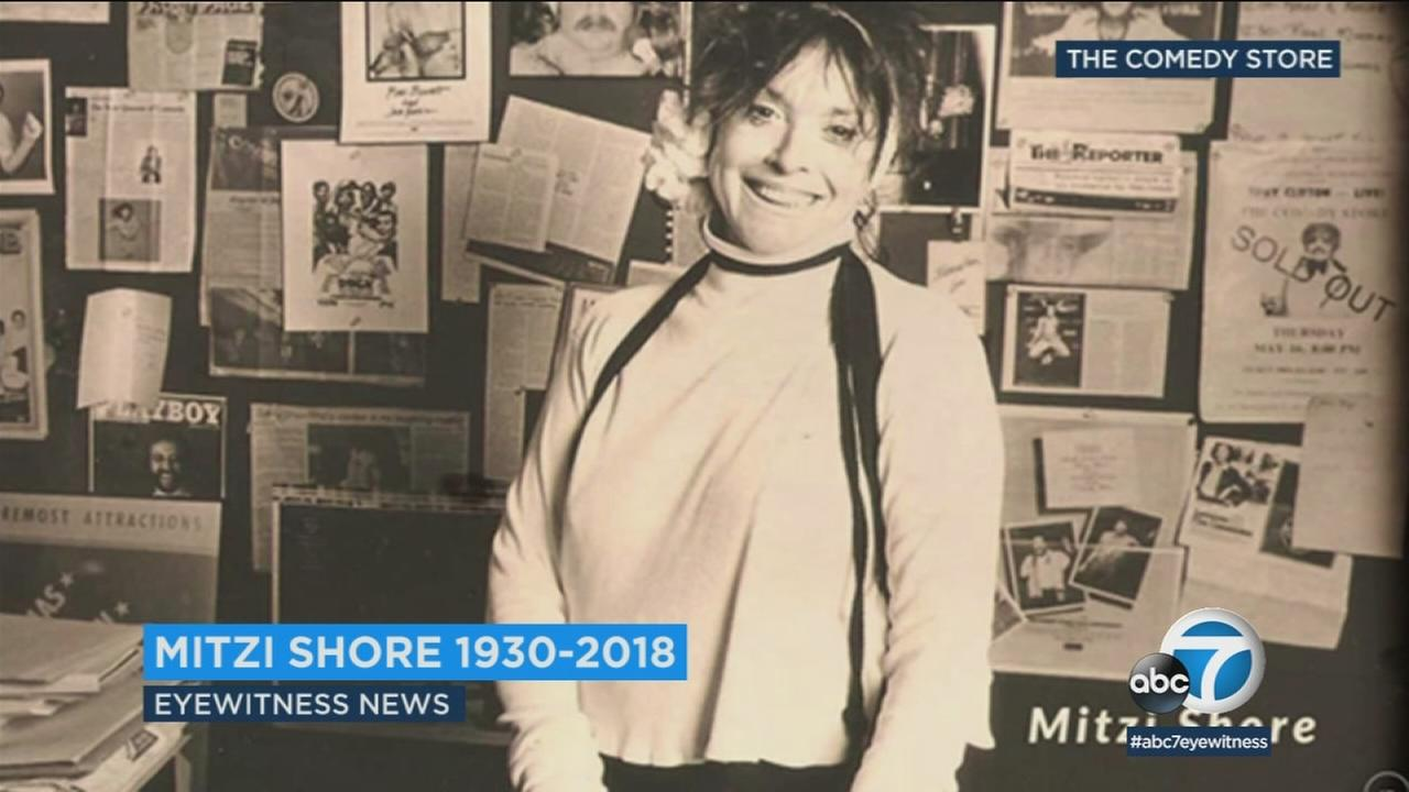 Mitzi Shore is shown in an older, undated photo.