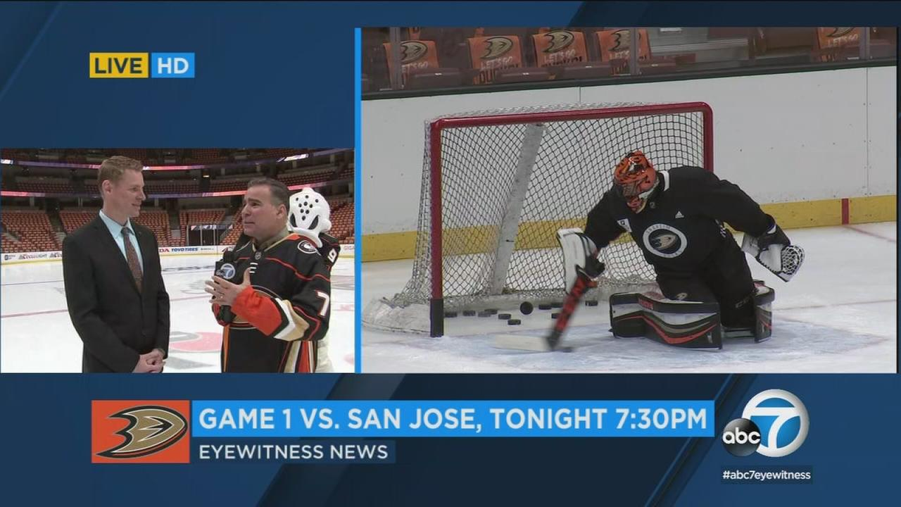 The Anaheim Ducks start their playoff run against the San Jose Sharks tonight at the Honda Center.