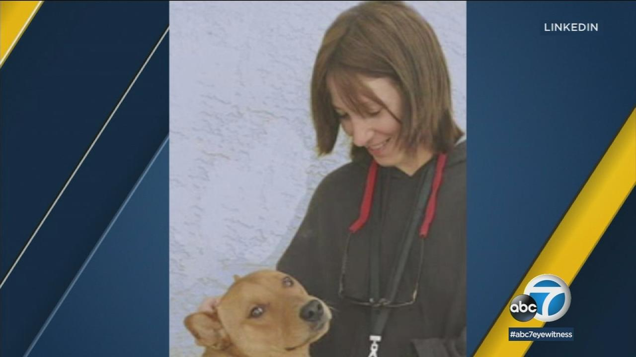 A former television producer was arrested on a murder warrant in connection with the death of her deaf and partly blind sister three years ago in Studio City.