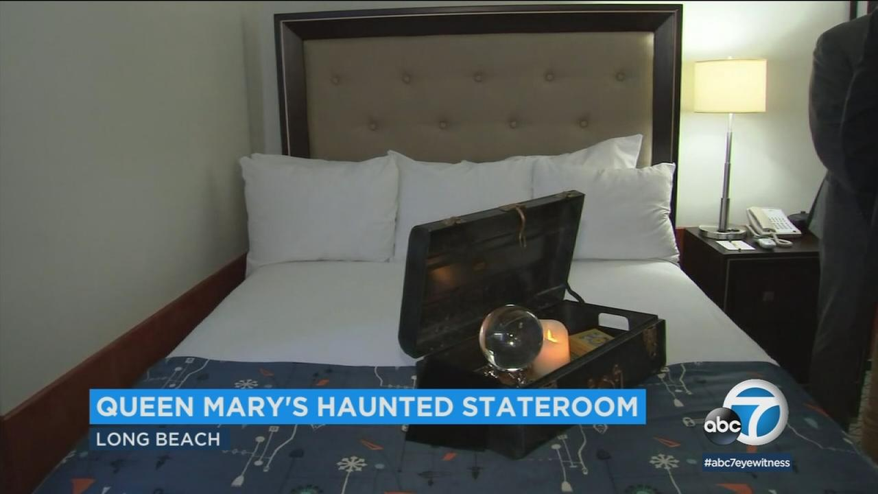 Thrill seekers can now spend the night in Queen Marys most haunted room for the first time in 30 years.